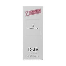 Парфюмерное масло с феромонами Dolce & Gabbana №3 L'imperatrice 10ml